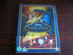 Beauty and the #beast - 3d & 2d #steelbook - blu-ray disney #zavvi exclusive uk n, View more on the LINK: http://www.zeppy.io/product/gb/2/262408479965/