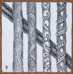 Tangles by Zentangle founder Maria Thomas