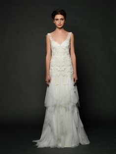 Hello Gorgeous! Sarah Janks Fall 2014 via @Dress for the Wedding