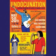 Grammy winning & nominated musicians, immigrant visual artists and performers come together celebrate the migrant experience and speak out against unjust immigration laws.