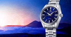 Grand Seiko Jubiläumsmodell im Blau der Morgendämmerung