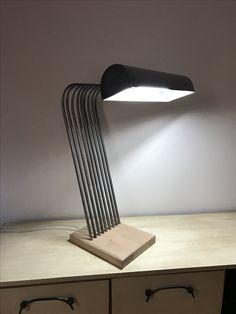 Lampe de bureau en fer