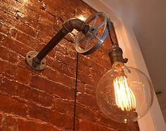 LUMINÁRIAS EM ESTILO INDUSTRIAL CHIC E STEAM PUNK LIGHTING : Indoor / Outdoor More at FOSTERGINGER @ Pinterest .
