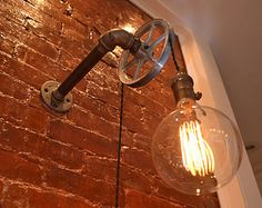 LUMINÁRIAS EM ESTILO INDUSTRIAL CHIC E STEAM PUNK LIGHTING : Indoor / Outdoor More at FOSTERGINGER @ Pinterest .