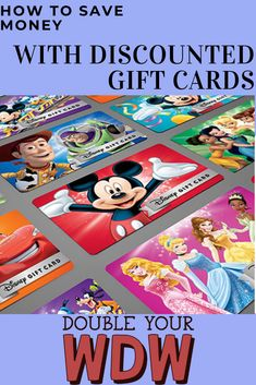How do you save money on your Walt Disney World vacation? You use free or discounted gift cards to pay for your trip. Find out how to get discounted gift cards for Disney World to pay for your entire vacation including your resort, tickets, souvenirs, foo Disney World Tips And Tricks, Disney Tips, Disney Love, Disney Deals, Disney Shopping, Disney Stuff, Disney On A Budget, Disney Vacation Planning, Disney World Planning