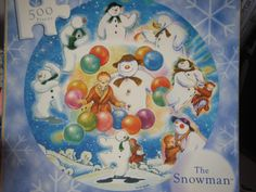 'The Snowman' 500 piece jigsaw Me want!