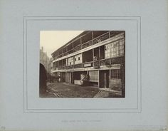 The King's Head Inn, displayed in one of the Society's original mats. Vintage Photographs, Vintage Photos, England National, New Condo, Walk Past, First Photograph, Grand Staircase, Old London, British Library