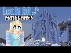 """♪ """"Let it Go"""" -A Minecraft Music Video of Disney's hit song (From """"Frozen"""") Portal, Minecraft Music, Frozen Let It Go, Frozen Songs, Suburban House, Hit Songs, Jelsa, Fanfiction, Letting Go"""
