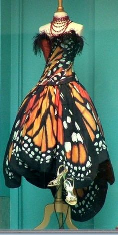 Luly Lang Butterfly Dress- cute, but not something I could pull off