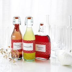 Homemade Liqueurs - Woman And Home