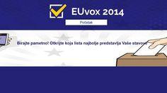 Predstavljena aplikacija za lakše snalaženje na izborima EUvox treba biračima olakšati snalaženje u političkom prostoru, pomoći im da svoje preferencije usporede s preferencijama političkih stranaka te ih motivirati da izađu na izbore.