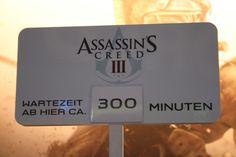 Warten oder nicht Warten? 300 Abs, Assassins Creed, Blog, Waiting, Blogging