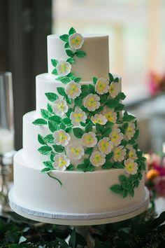 floral cake | The Bi