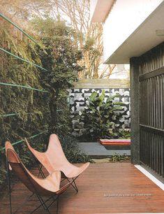 amazing outdoor space + vertical garden