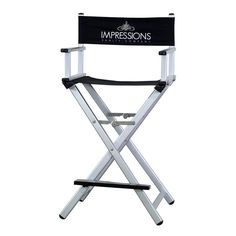 Impressions Vanity Foldable Professional Makeup Artist's Chair