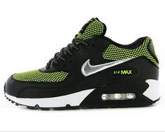 Nike Air Max 90 Sport Schoenen Groen Zwart Online GRATIS VERZENDING DOOR DHL