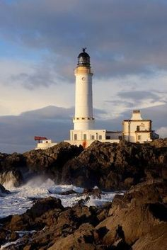Corsewall Lighthouse, Galloway, Scotland by Kathy_14