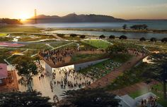 competing designs revealed for presidio parklands project in san francisco