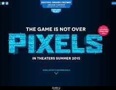 다음 @Behance 프로젝트 확인: \u201cPIXELS Movie Tumblr\u201d https://www.behance.net/gallery/15774295/PIXELS-Movie-Tumblr