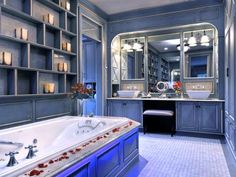 Makeup Vanity - Dressing Table | Bathroom Ideas & Design with Vanities, Tile, Cabinets, Sinks | HGTV