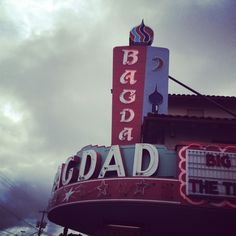 The amazing Bagdad Theater... one of my favorite places to go see a movie. portland, oregon