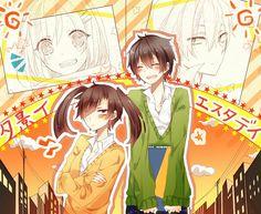 Takane & Haruka   Mekakucity Actors #anime
