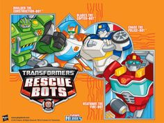 Join the ranks of our Transformers Rescue Bots!