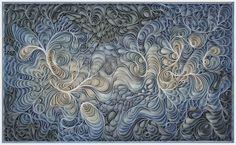 Original artwork, sculpture, seattle, jason hallman, stephen stum, deep blue sky, blue steel, blue art, blue gray, coastal fog