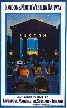 London & North Western Railway Vintage Travel Poster