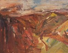 Shropshire Landscape Miles Richmond Shropshire Landscape  1948, Oil on Canvas, 710 x 920, P_40_007