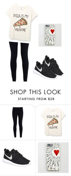 """I hope you like this style! Sure I'll wear it on February 14 ❤️"" by luiza-raluca ❤ liked on Polyvore featuring NIKE, women's clothing, women, female, woman, misses and juniors"
