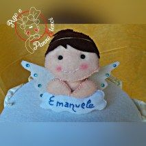 Cake topper Angioletto
