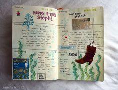 pinterest journal ideas | Journal page | DIY art ideas | Pinterest