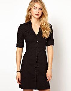 Enlarge Mango Fiteed Shirt Dress