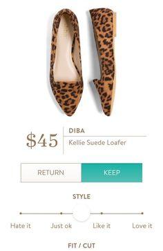 DIBA Kellie Suede Loafer from Stitch Fix.  https://www.stitchfix.com/referral/4292370