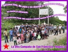 Campesinas y campesinos por el derecho a la tierra y el territorio en San Francisco Teopisca, Chiapas