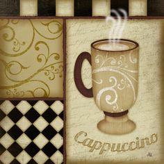 Cappuccino Print by Jennifer Pugh