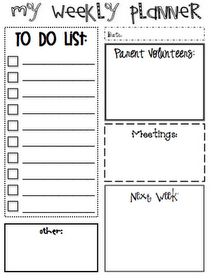 Great printable planner...I LOVE using these!