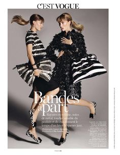 Vogue Paris - C'est Vogue November 2013  In this picture:  Maryna Linchuk  Cato Van Ee