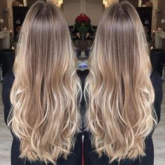 Golden Blonde Balayage for Straight Hair - Honey Blonde Hair Inspiration - The Trending Hairstyle Medium Blonde Hair, Blonde Hair Looks, Honey Blonde Hair, Beige Blonde Hair, Short Blonde, Blonde Ombre, Hair Color Balayage, Hair Highlights, Natural Blonde Balayage