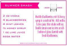 #pinnaclevodka Summer Smash