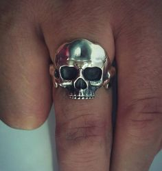 Check out this item in my Etsy shop https://www.etsy.com/listing/542487053/skull-ring-silver-ring-rings-for-men