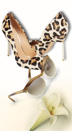 Kurt Geiger Stiletto Heeled Shoes + Louis Vuitton ❤♔Life, likes and style of Creole-Belle ♥ Hot Shoes, Shoes Heels, Fashion Bags, Fashion Shoes, Fashion Ideas, Women's Fashion, Christian Louboutin, Motif Leopard, Leopard Prints