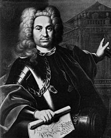 Johann Balthasar Neumann, gemeinhin bekannt als Balthasar Neumann (* 27. Januar 1687 in Eger; † 19. August 1753 in Würzburg), war einer der bedeutendsten Baumeister des Barock und des Rokoko in Süddeutschland.  Zu seinen bekanntesten Werken zählt die Würzburger Residenz, der 1981 von der UNESCO weltweite Bedeutsamkeit zugesprochen wurde. Die Residenz darf aufgrund der Entscheidung den Titel Welterbe führen.