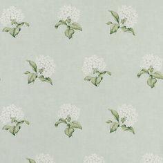 Heligan Eau de Nil Floral Wallpaper