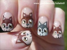 Lovely Animal Nail Art Ideas For Girls Who Love Cute - Page 2 of 4 - Trend To Wear