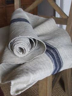 lards of lovely herringbone weave to make some cushions with