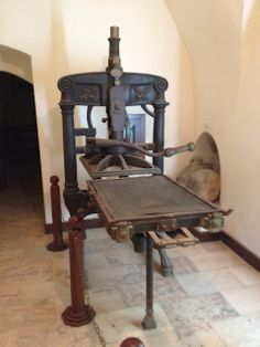 Larger printing press created by Abdallah Zakher