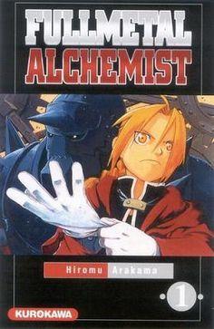 Couverture Fullmetal Alchemist, tome 01
