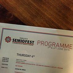 #SEMIOFEST day 2 kick-off this morning with #NathalieCottin (Monoprix) & #JoseLevy (designer) www.2015.semiofest.com